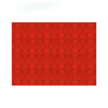 Papírové prostírání 30x40 cm červené