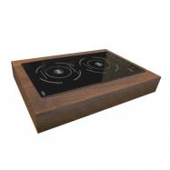 Bufetový modul Indukce -komplet, Wood tmavý