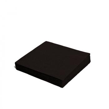 Ubrousek 24x24cm 2 vrstvý černý
