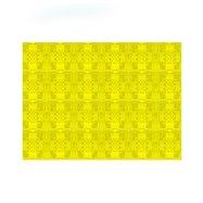Papírové prostírání 30x40 cm žluté