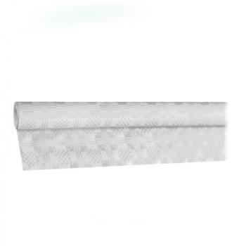 Papírový ubrus rolovaný 10x1,2m bílý